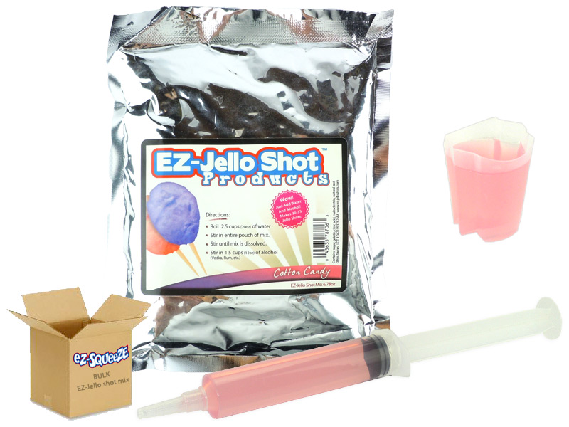 Cotton Candy EZ-Jello Shot Mix - BULK BOX