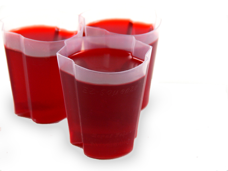 EZ-Squeeze Jello Shot Cups 500 Pack