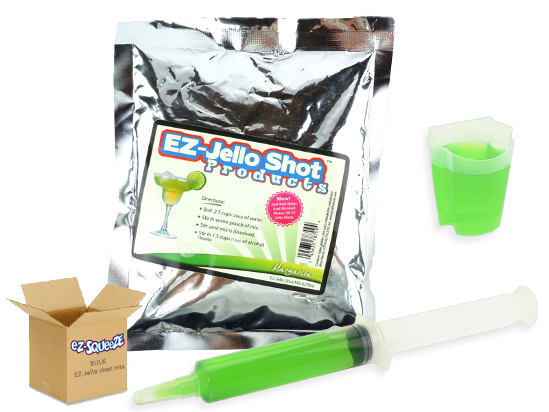 Margarita EZ-Jello Shot Mix - BULK BOX