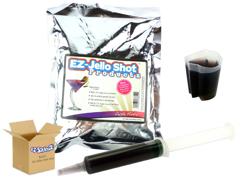Purple Hooter EZ-Jello Shot Mix - BULK BOX