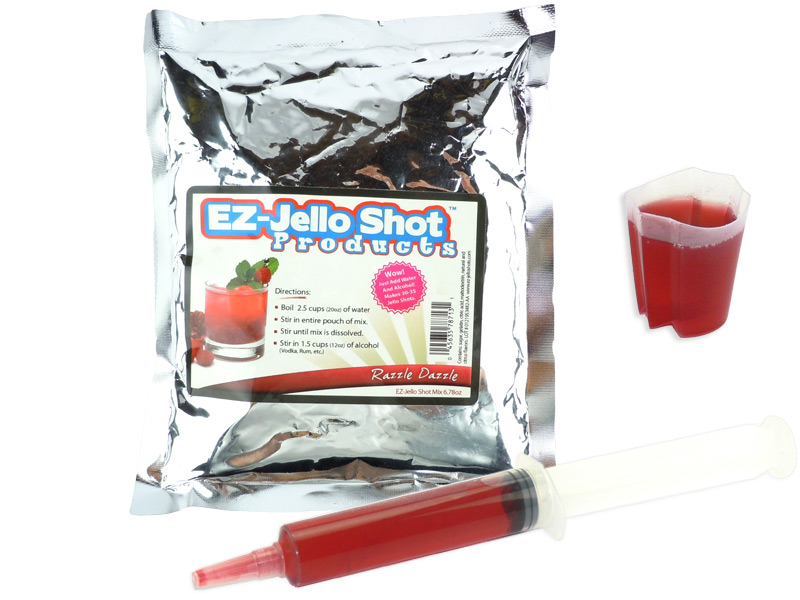 Razzle Dazzle EZ-Jello Shot Mix